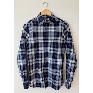 Express ✈️ Men's Extra Slim Fitted Plaid Shirt
